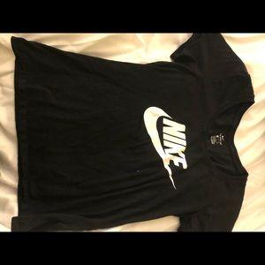 Women's black nike shirt